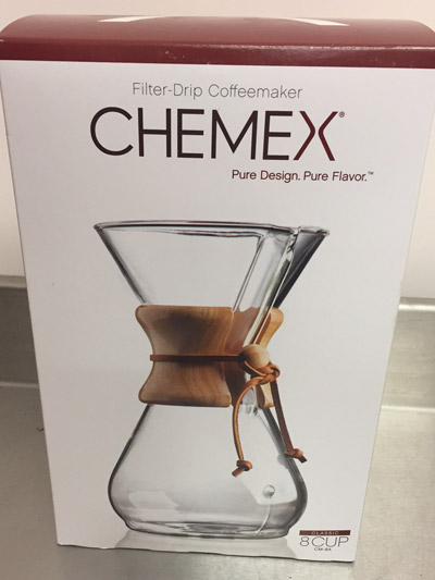 CHEMEX 8 Cup Coffee Maker - Ponaire