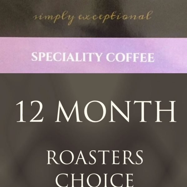 Ponaire Ireland Speciality coffee - 12 month Roaster Choice coffee subscription