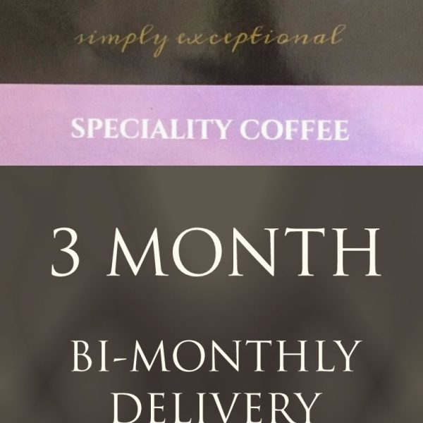 Ponaire Speciality coffee - 3 month coffee subscription delivered twice monthly