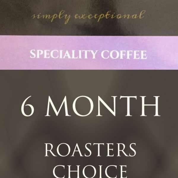 Ponaire Speciality coffee - 6 monthly subscription