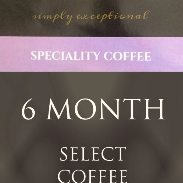Ponaire Ireland Speciality coffee - 6 month coffee subscription delivered monthly