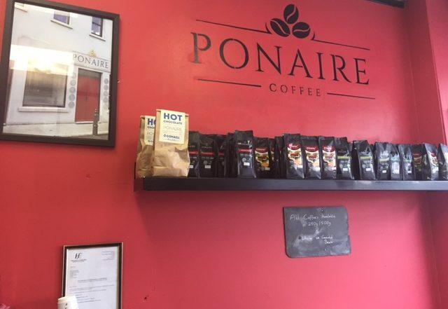 Ponaire Coffee in Dublin