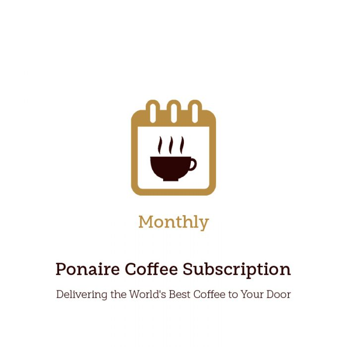 Monthly Coffee subscription Service