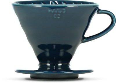 Hario 1-4 Cup Indio Blue Ceramic Dripper