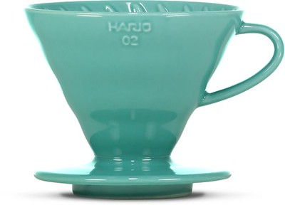 Hario 1-4 Cup Turquoise Ceramic Dripper