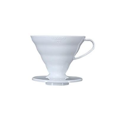 Hario 1-4 Cup White Ceramic Dripper